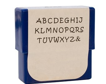 Aras Alphabet Stamp Set - 2 mm Upper Case Metal Marking Stamping Jewelry Tool - PUN-750.00