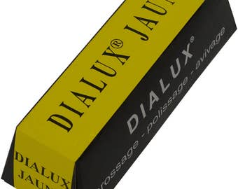 4 Oz Dialux Yellow Compound Jewelry Making Metal Polishing Cleaning Abrasive Finishing - 42-1056