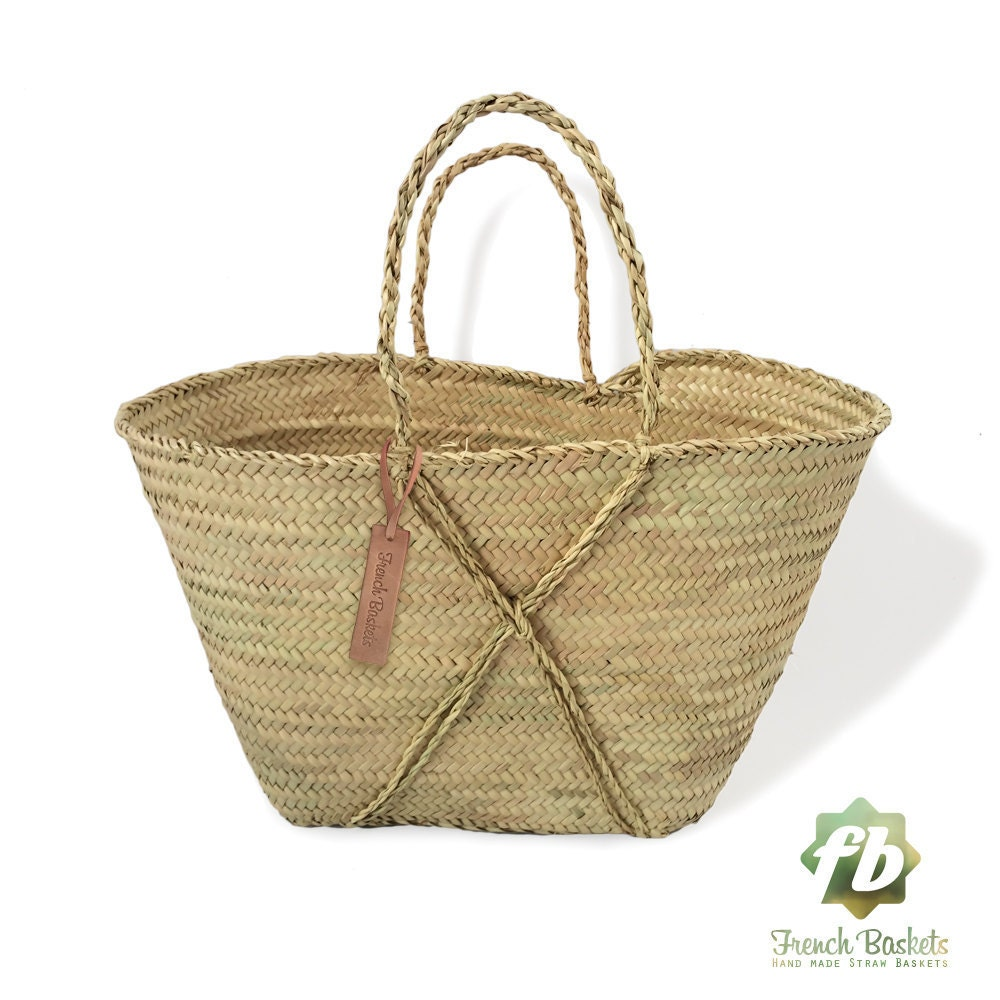 Small baskets the cross : Natural Basket Beldi Small French