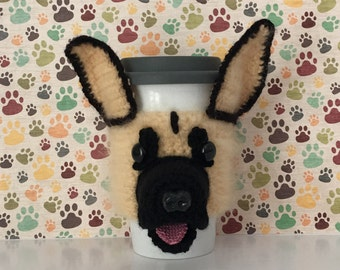 German Shepherd Mom - German Shepherd Mug (Cozy) - GSD - German Shepherd Love - Service Dog - Assistance Dog - Dog Trainer Gifts - Police K9