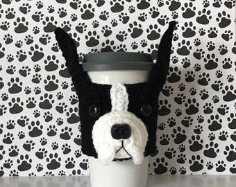 Boston Terrier Gifts - Boston Terrier Mug (Cozy) - Cute Boston Terrier - I Like Dogs - Coffee Mug Warmer - Crazy Dog Lady - Fur Mama