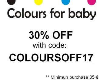 30% OFF Discount Code : COLOURSOFF17 for pattern bundle, minimum purchase 35 euros