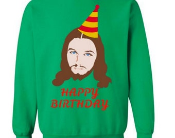 Funny Jesus Sweater for Christmas Party Ugly Sweater Ugly Christmas Sweater Tacky Sweater Funny Sweater Ugly Sweater Party Jesus #OS182