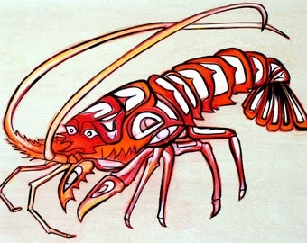 North Pacific Lobster Original Painting