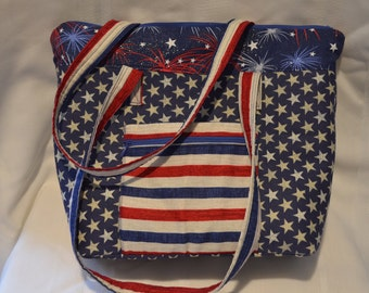 Conceal Carry Purse - Stars and Stripes