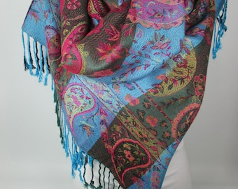 Pashmina Scarf Oversize Scarf Shawl Winter Scarf Women Holiday Fashion Accessories Christmas Gift Ideas For Her