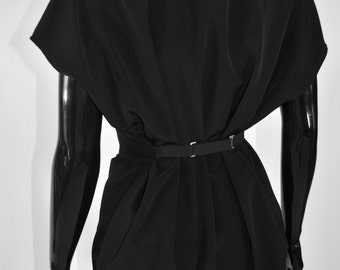 Maison Martin Margiela Black Smock Dress