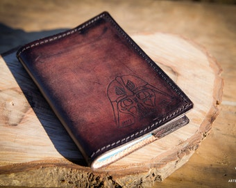 Notebook Star Wars Brown Leather