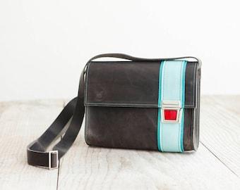 Small leather bag of Haeute, S