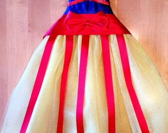 Snow White tutu bow holder