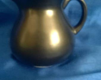 Prinknash Pottery Black Luster Jug