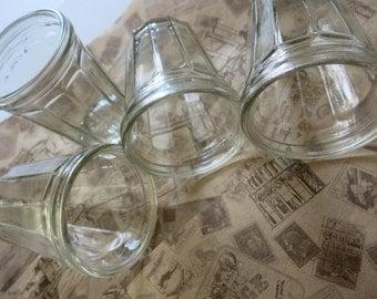 Soviet vintage, Vintage Etched Glass, vodka glasses soviet, russian kitchen ussr, soviet glass, vodka glass, USSR housewares, water glass