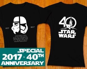 New Star Wars 40th Anniversary Women T-shirt, Stormtrooper - Star Wars Shirt Star Wars Art Star Wars Gift Star Wars Dress The Force Awakens