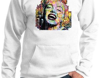 Men's Neon Marilyn Monroe Hoody 20128HL2-PC90H