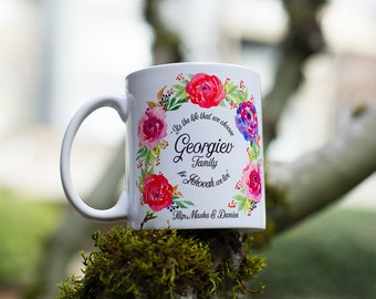 JW | Custom Family Name Encouragement Mug | Family Gift | Present |  Isaiah 41:10 | Jehovah's Witnesses | Pioneer Gift