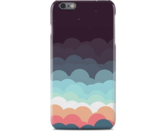 Night Sky iPhone 6 Case, iPhone 6S Case, iPhone 6 Plus Case, iPhone 5 Case, iPhone 5S Case, iPhone 5C Case, Samsung Galaxy Case S5, S6, S7