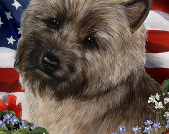 Cairn Terrier Garden Flags