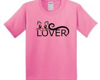 Cat t-shirt, girl's t-shirt, girl's tshirt, youth t-shirt, toddler t-shirt, toddler tshirt, girl's tshirt, cute girls shirts, cat tshirts