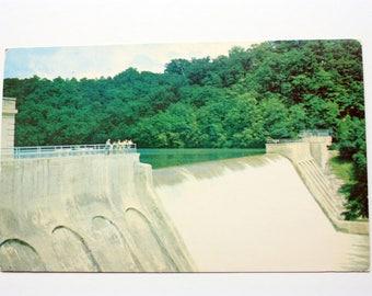 Loch Raven Dam Postcard  1957 / Maryland Postcard / vintage Baltimore Postcard