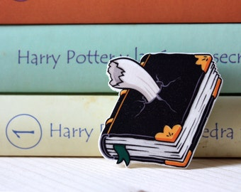 Harry Potter Brooch, Tom Riddle Diary Brooch, Harry Potter Pin