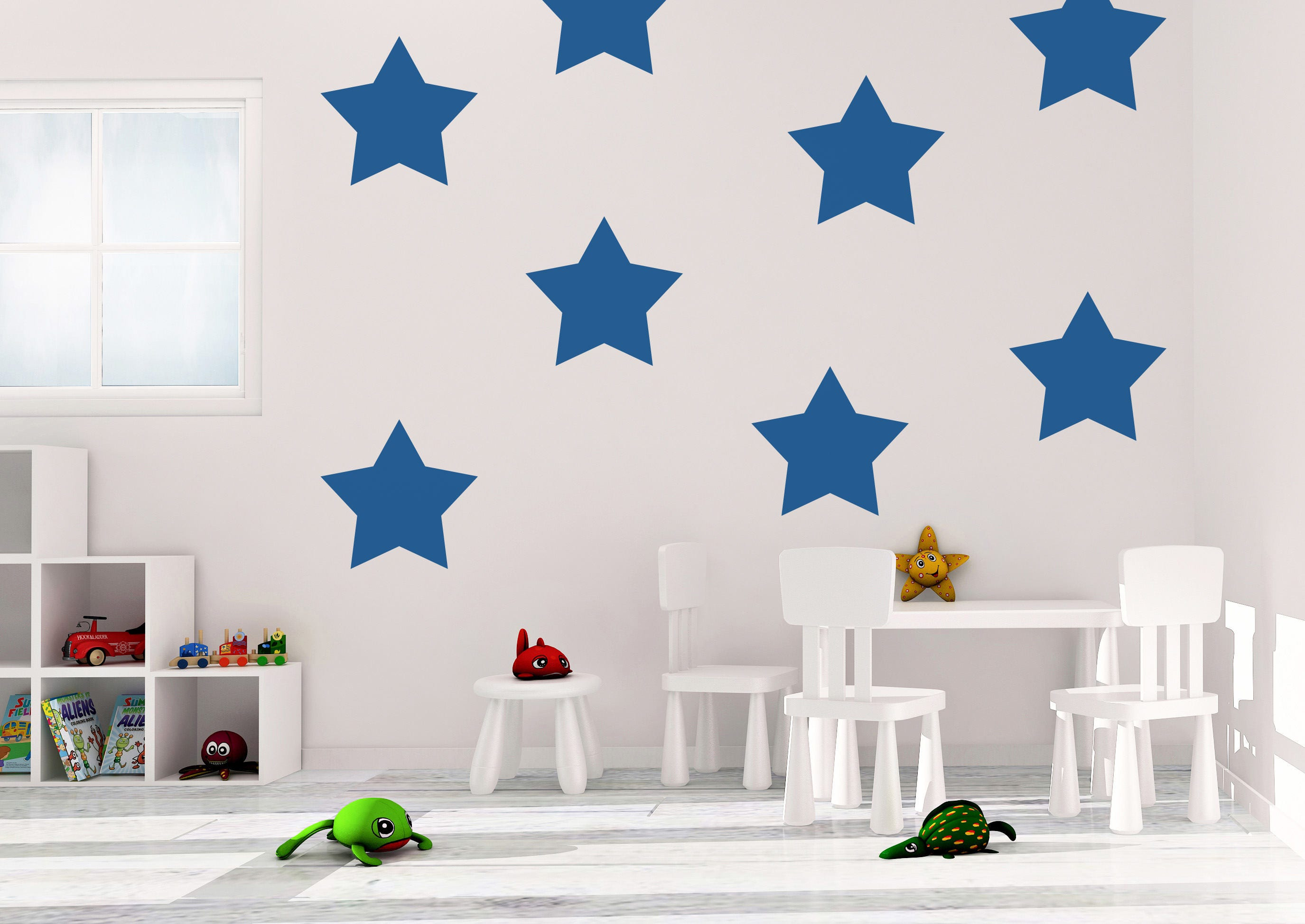 Star Wall Decals - Star Decal - Vinyl Wall Decal - Stars - Wall ...