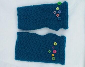 Bluey Green Wrist Warmers