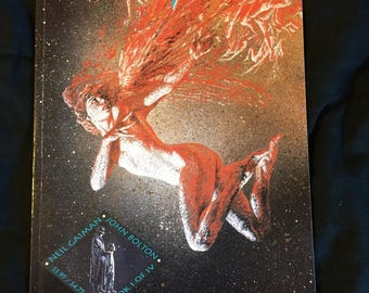 Books Of Magic #1 First Printing DC Comics 1990 Neil Gaiman John Bolton VG TPB Graphic Novel