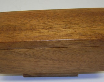 Small Mahogany Hinged Box