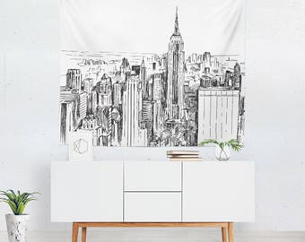 Superieur New York Wall Art | New York Art | New York Décor | New York Tapestry