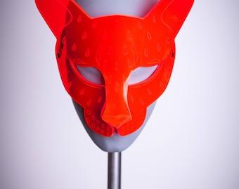 Sale! Roarrrr!!! Leopard Mask UV Red