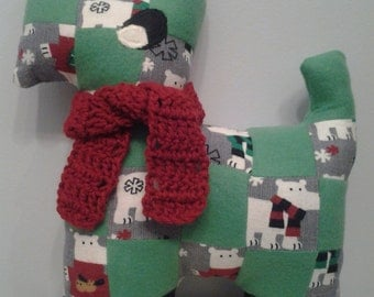 Patchwork Quilted Dog