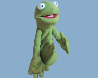 Little Dudes Frog Variant - hand made professional puppet