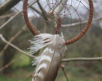Dream Catcher- Buzzard Feather