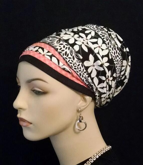 Comfortable floral Cotton sinar tichel, apron tichels, tichels, head wraps, mitpachat, chemo scarves