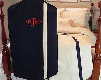 Monogrammed garment bag, garment bag, carry on, travel bag, luggage, monogrammed travel bag, monogrammed luggage