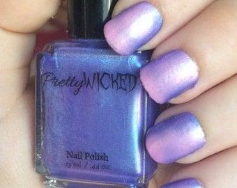 Blue/Pink Thermal Nail Polish, Persephone Polish, Blue Thermal Nail Polish, Pink Thermal Nail Polish, Color Changing Nail Polish