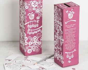 Happy Memories Diary Box   Memory Box   Diary Box