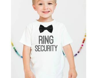 Ring Bearer Shirt. Kids Wedding Shirt. Wedding Ring Shirt. Wedding Ring Bearer Shirt. Ring Security Shirt. Ring Security. Max and Mae Kids