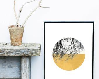 Scandi Art Print, Abstract Art Print, Scandinavian Print,  Mid Century Modern, Art Print, Giclee print, Geometric Poster, Wall Decor