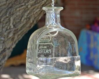 Patron Tequila Hanging Planter / Hanging Succulent Planter / Hanging Plants / Wine Gifts / Hanging Planter / Succulent Terrarium