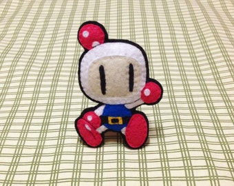 Magnet Fridge Plush! Bomberman Character