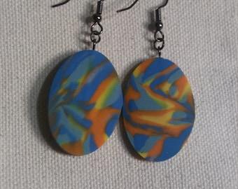 Dizzy D's Oval Medium Earrings