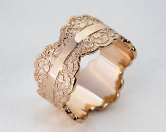 rose gold wedding band rose gold band womens wedding band womens wedding bands - Women Wedding Ring