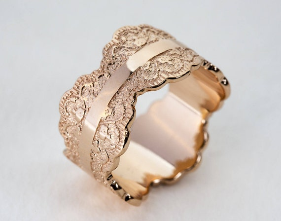 like this item - Rose Gold Wedding Rings For Women