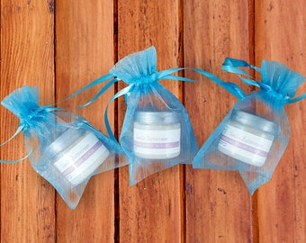 SOLD OUT - Baby Boy Shower Favors - Baby Shower Gifts - Whipped  Sugar Scrub - Baby Shower Favors