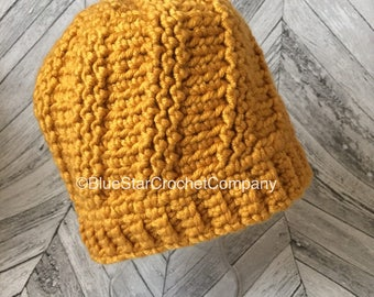 Crochet hat pattern/ Crochet Beanie pattern/ Crochet women's hat/ crochet adult beanie/ crochet pattern/ crochet headware pattern