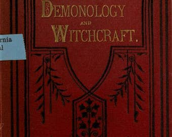 Witches, Witchcraft, Occultism, Demonology. 57 Rare Books as PDF's on Data Disc