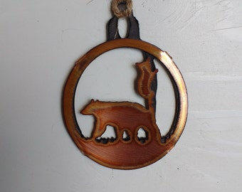 Bear with Cub Ornament