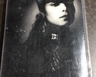 Janet Jackson Rhythm Nation Cassette Tape 1989