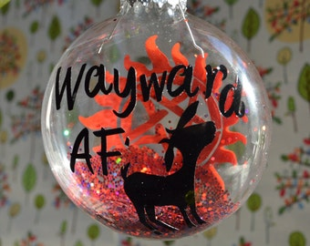 WaywardAF Ornament with Goat
